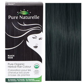 Pure Organic Herbal Hair Colour: BLACK by Manas PURE NATURELLE