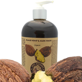 Black Soap & Aloe Wash (Organic)