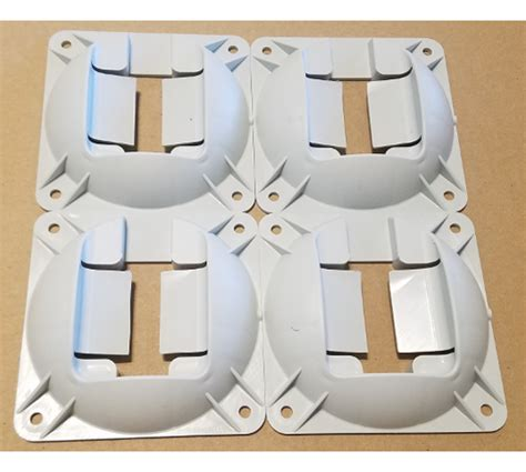 Solo: Mounting plate for acoustic sensor, set of 4
