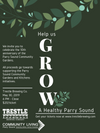 Growing a Healthy Parry Sound - May 30th
