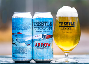 Arrow Pilsner - Trestle Brewing Company