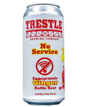 No Service Pomegranate Ginger Sour - Trestle Brewing Company