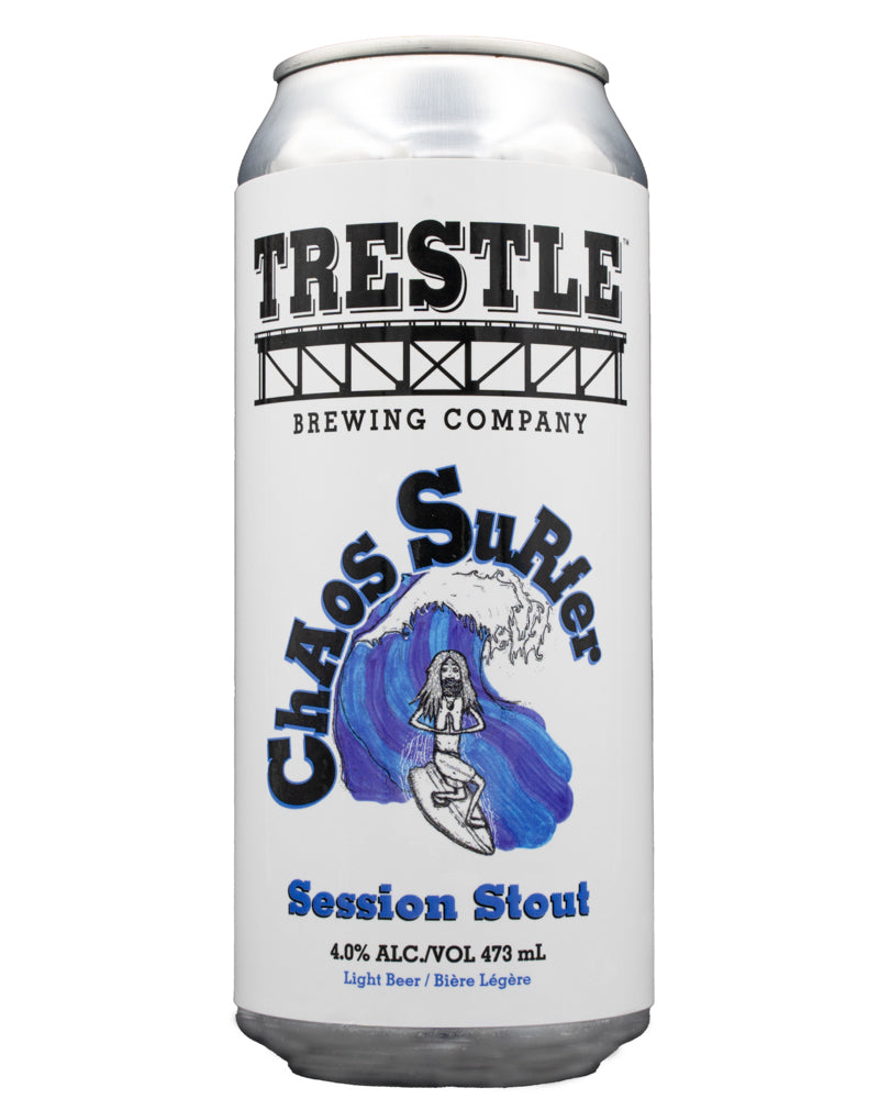 Chaos Surfer Session Stout - Trestle Brewing Company