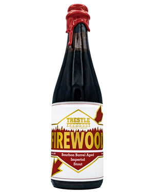 Firewood Bourbon Barrel Aged Stout - Trestle Brewing Company