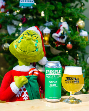 Grinch Tears Key Lime Gose - Trestle Brewing Company