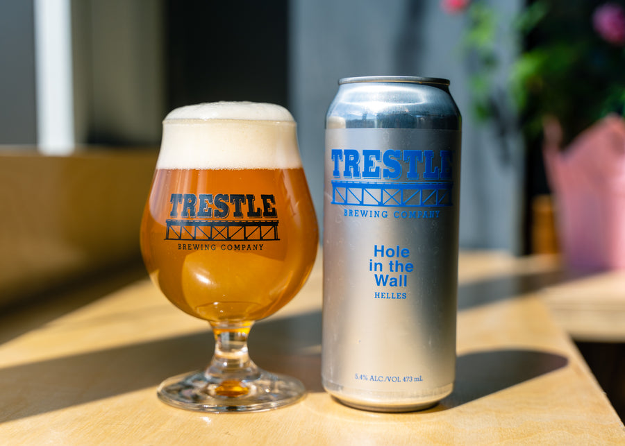 Hole in the Wall Helles - Trestle Brewing Company