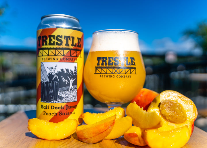 Salt Dock Jump Peach - Trestle Brewing Company