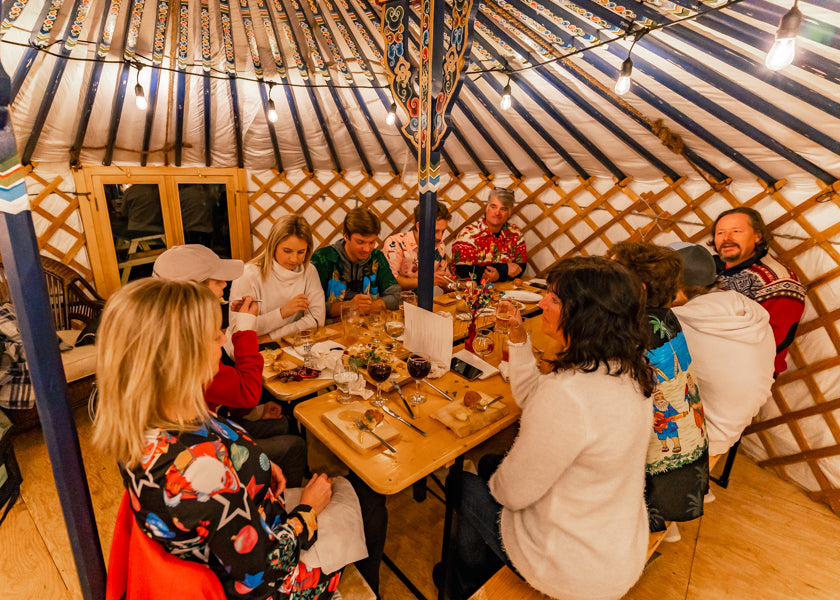 All Ontario Yurt Dining Experience - Trestle Brewing Company