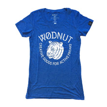 Triblend FEMALE Tshirt - Creative Goods for Active Freaks (Blue)