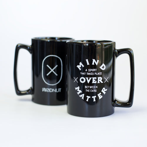 Mind Over Matter (Black Mug)