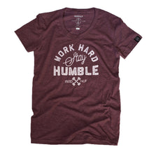 Work Hard Stay Humble (Plum) Female