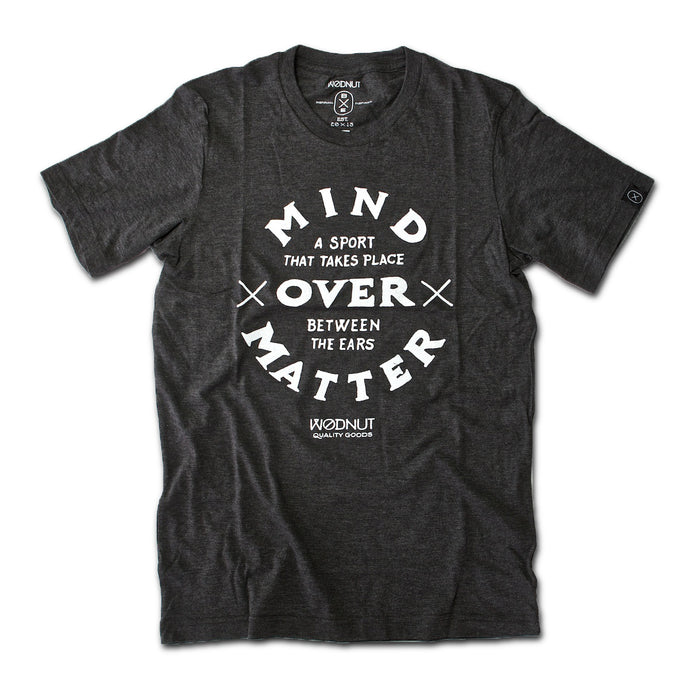 Triblend MEN Tshirt - Mind Over Matter (Vintage Black)