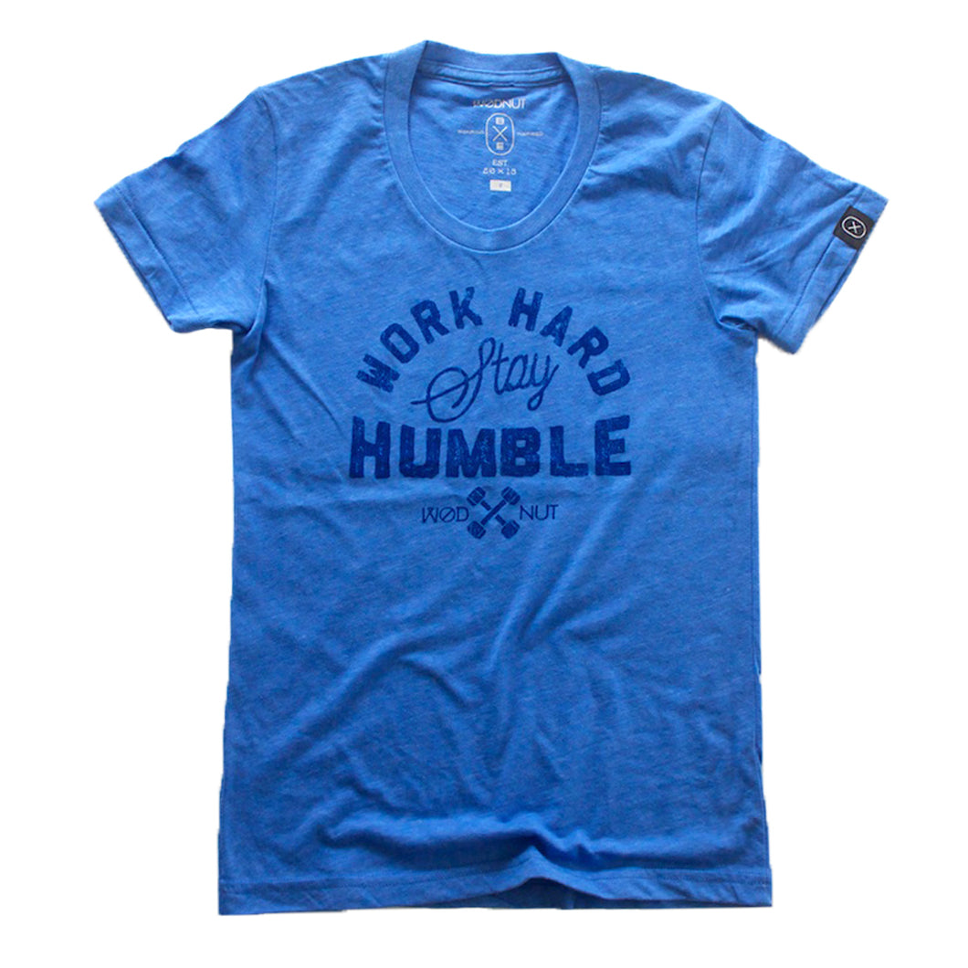 Work Hard Stay Humble (Blue) Female