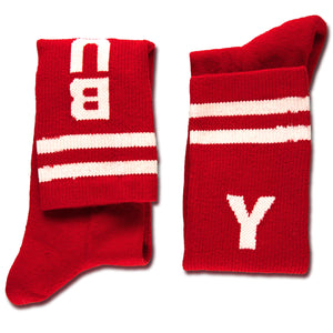 Socks Yay Burpee (Red)