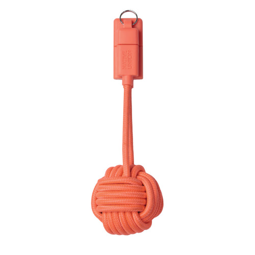 Key Cable Lightning (Coral)