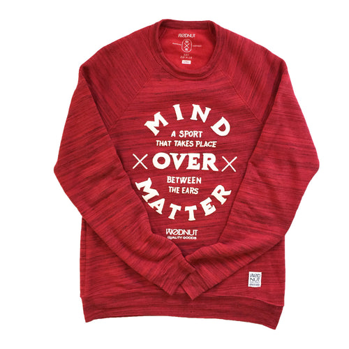 Mind Over Matter Crew Neck (Red) Unisex
