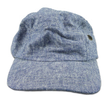 Apolis Indigo Chambray Linen Hat