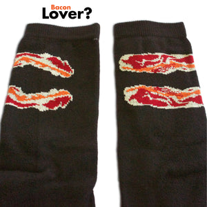 Socks Bacon (Black)