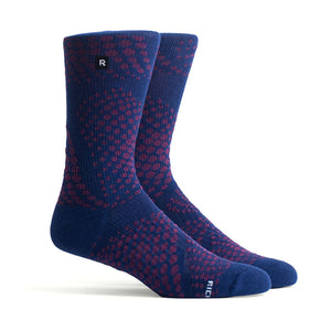 Riptide Athletic Socks (Navy)