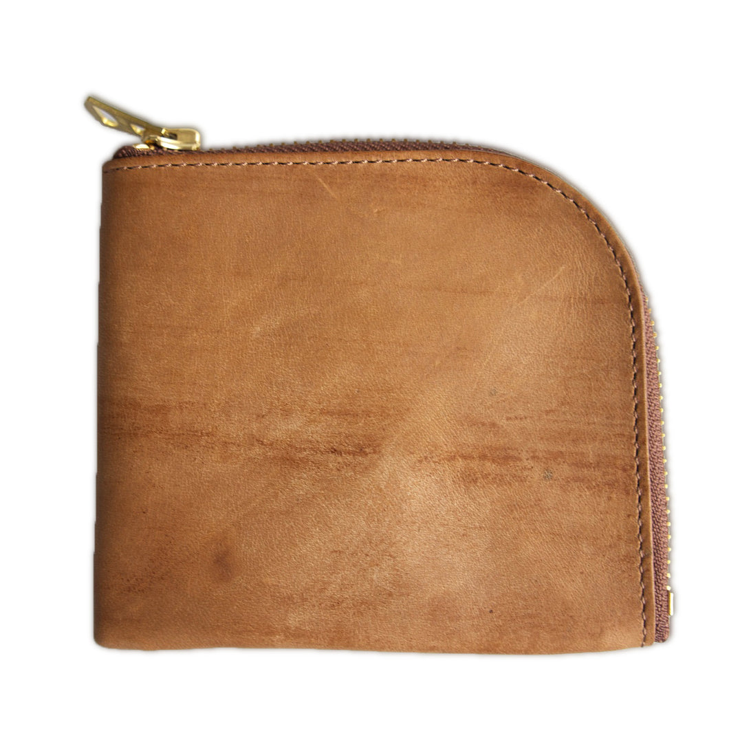 Horse Leather Coin Case (Brown)