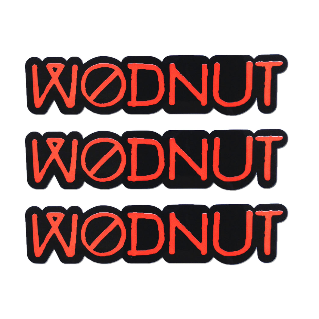 Wodnut Stickers (Pack of 3)