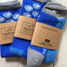 Athletic Socks Triangle (Blue)