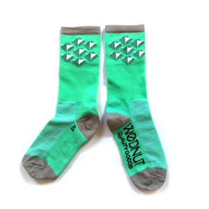 Athletic Socks Triangle (Green)