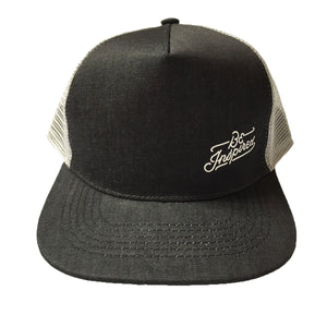 Be Inspired Denim Trucker Hat (Black)