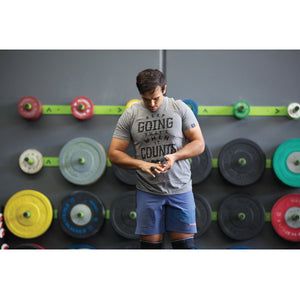 Triblend MEN Tshirt - Keep Going (Grey)