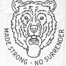 UNISEX Muscle Tee - Made Strong No Surrender (White)