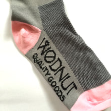 Athletic Socks Upside Down Mismatch (Pink)