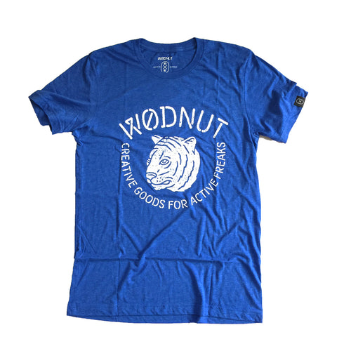 Triblend MEN Tshirt - Creative Goods for Active Freaks (Blue)