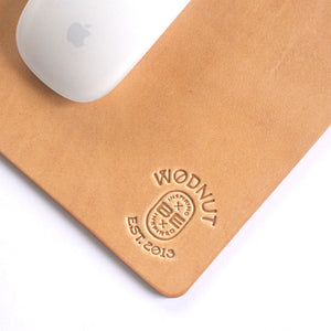 Premium Leather Mousepad (Natural)