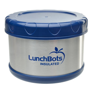 Lunchbots Insulated Thermal (Blue)