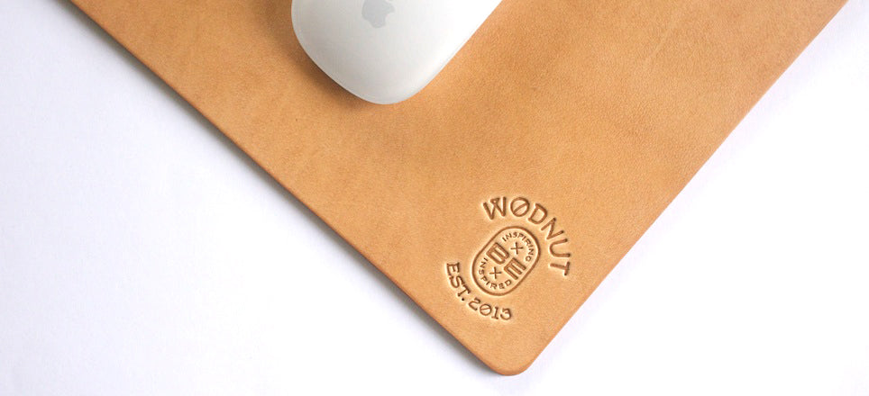 Premium Leather Mousepad