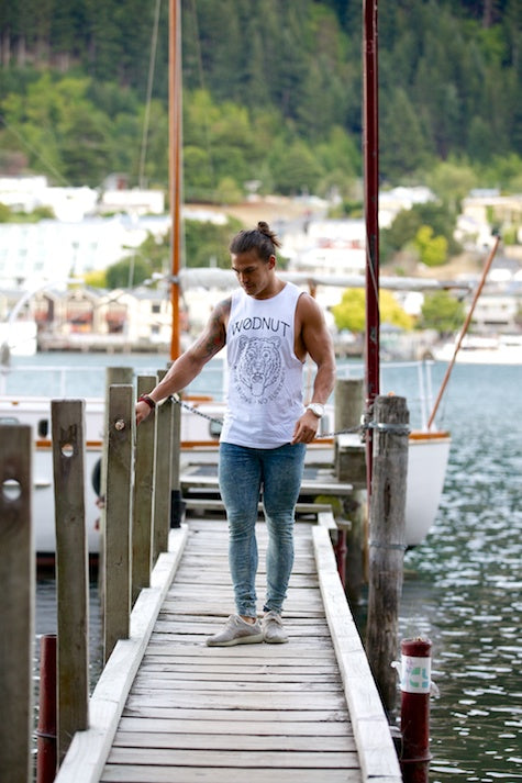 Creative Goods For Active Freaks Scoop Neck Tee | Wodnut