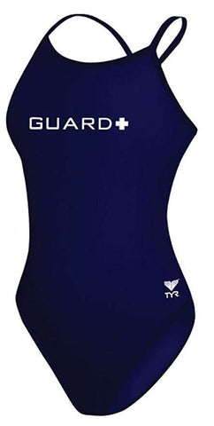 TYR Diamond Fit Guard Navy