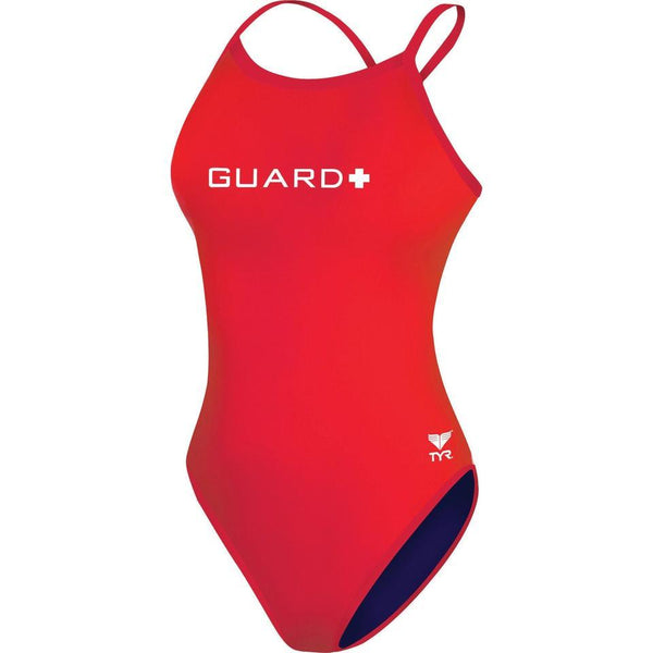 TYR Diamond Fit Guard Red