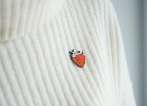 Anatomic Heart Pin