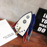 I Need More Space® Space Rocket Clutch and Bag