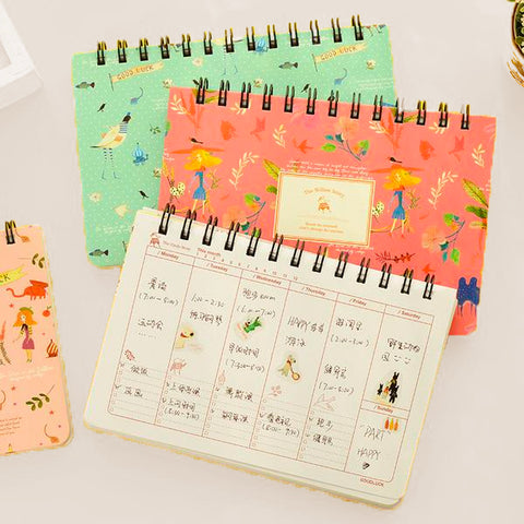 Blooming Space Personal Weekly Planner