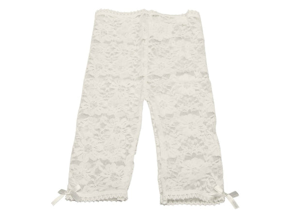 Lace Leggings Off-white - Baby Emporio