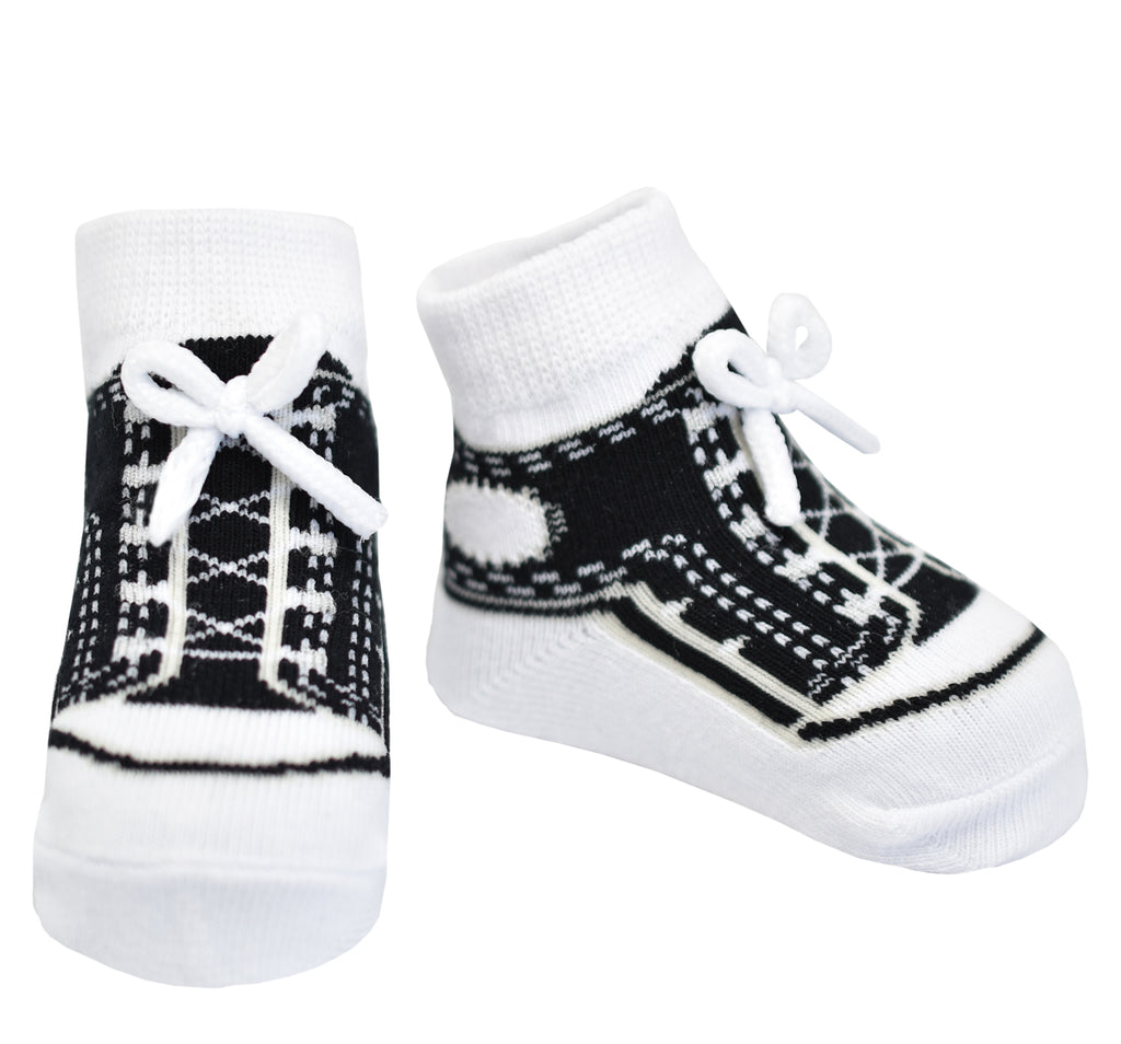 SNEAKERS SOCKS BLACK