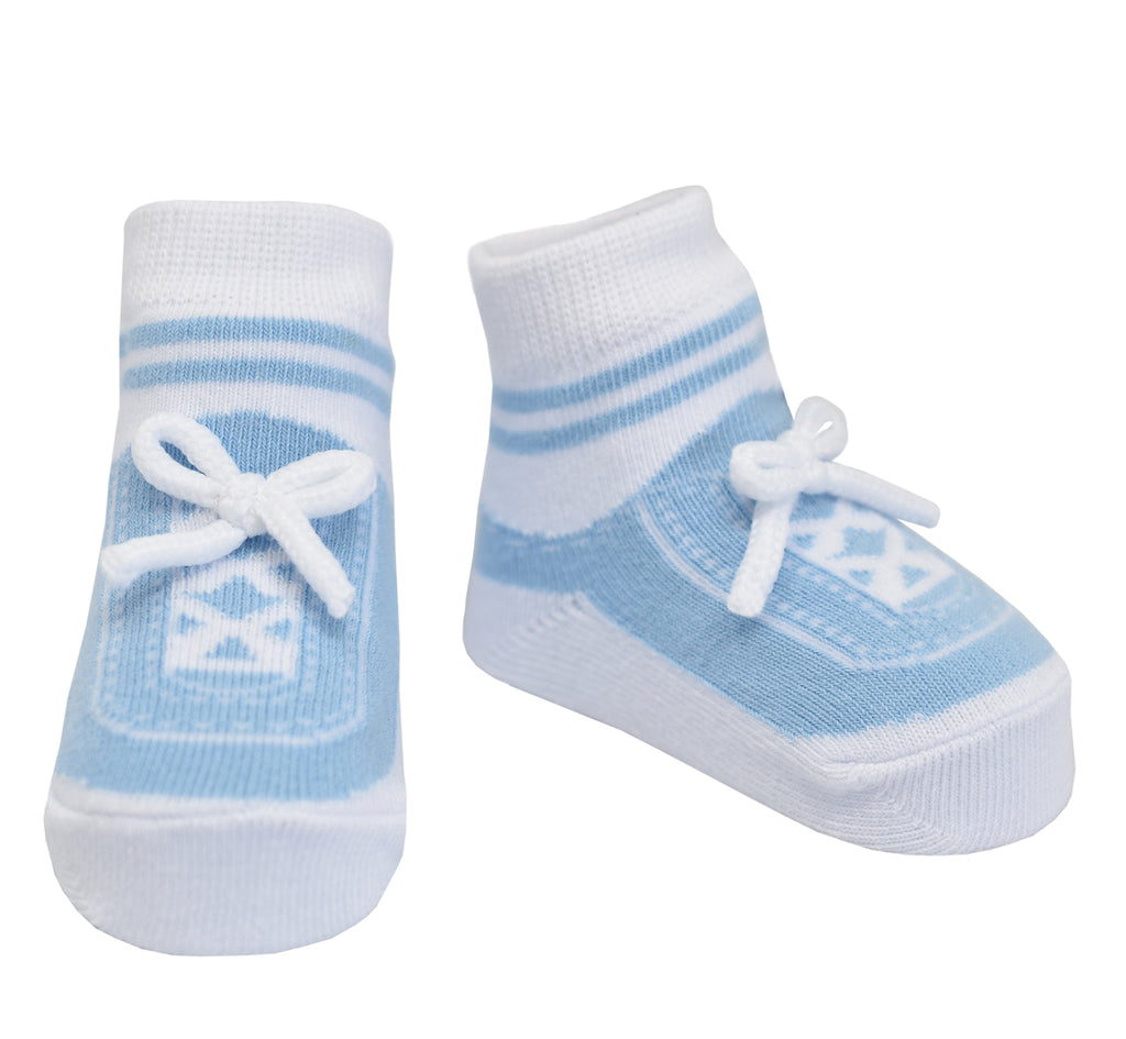 STEPPING OUT SOCKS-LIGHT BLUE