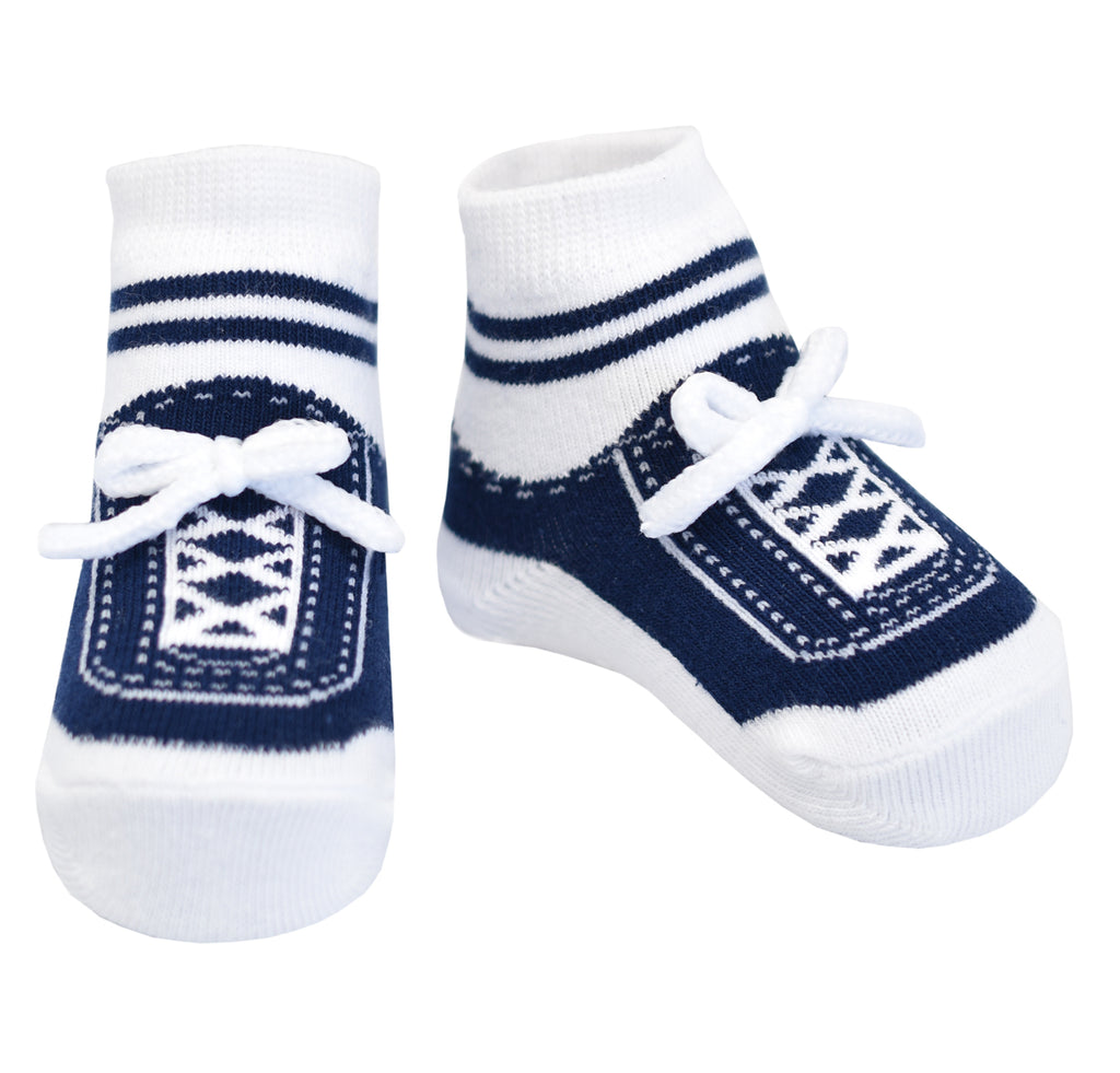 STEPPING OUT SOCKS-NAVY BLUE