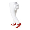 Ruffle Mary Jane Tights Red - Baby Emporio
