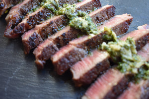 Sous Vide 101: Sous Vide Steak with Chimichurri Sauce