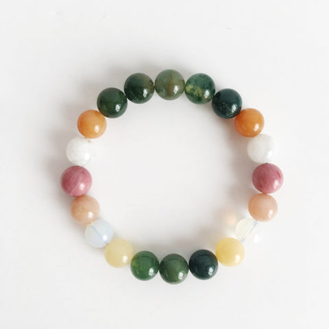 Brand New Start Mix ~ Genuine Gemstone Mix Bracelet - A Peace of Mind Jewelry & Boutique