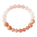 Love Yourself - Muscovite, Rose Quartz & Moonstone Bracelet