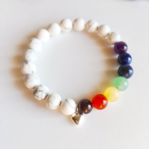 One Love - 7 Chakras Love Bracelet - Mixed Bracelet
